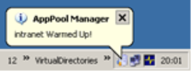 Application Pool Recycle Utility for SharePoint Developers