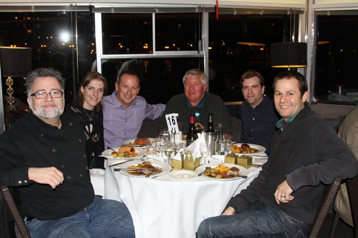 With friends at the BPC London 2011 Speaker Dinner