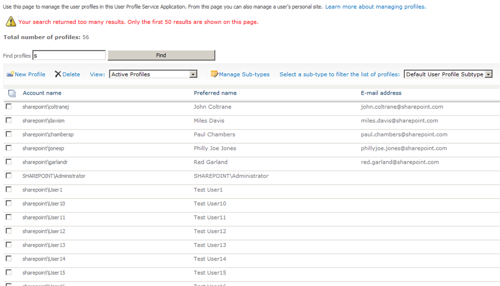 Account Deletion and SharePoint 2010 User Profile Synchronization