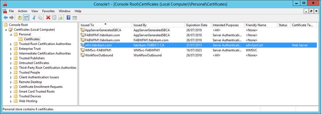 Workflow manager farms for sharepoint 2013 part three switching an 6 yelopaper Gallery