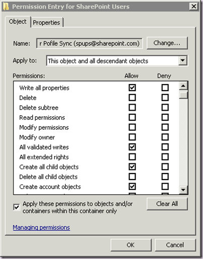 rational guide to implementing sharepoint server 2010 user profile rh harbar net Default User Profile Default User Profile